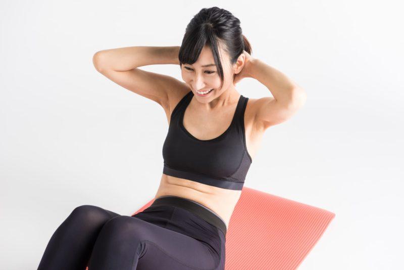 毛穴の悩みは運動不足が関係しているのか 1 腹筋