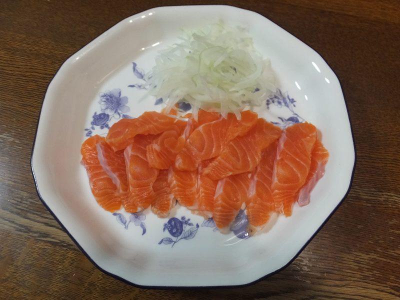 鮭をたくさん食べる人