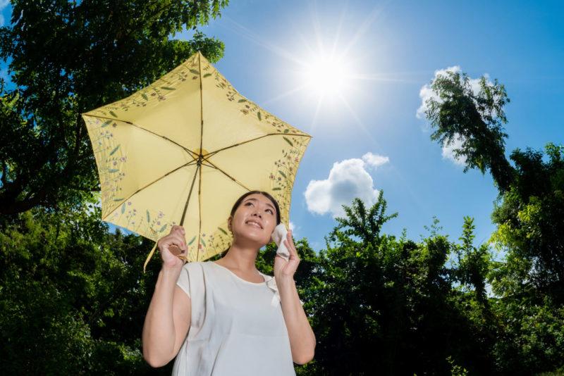 女性の8割がなっていると言われるインナードライ肌とは 紫外線