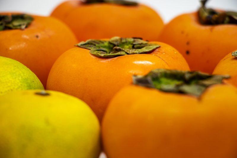 コラーゲンと運動の関係 柿とミカン