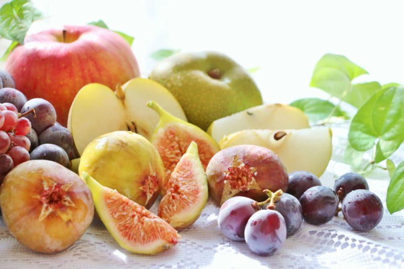 ビタミン豊富なフルーツ各種