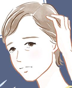 トリカ 髪の悩み