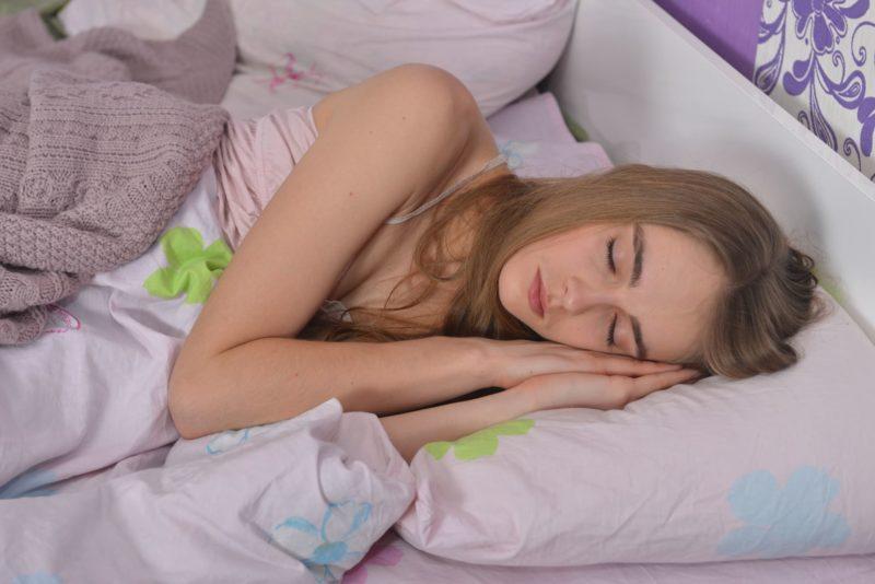 乾燥肌と老け 睡眠