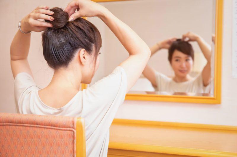 女性の抜け毛はどうすれば防げるの?様々な対策方法 お団子ヘア