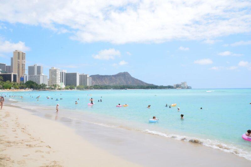 髪の日焼け対策と紫外線の関係 ハワイ
