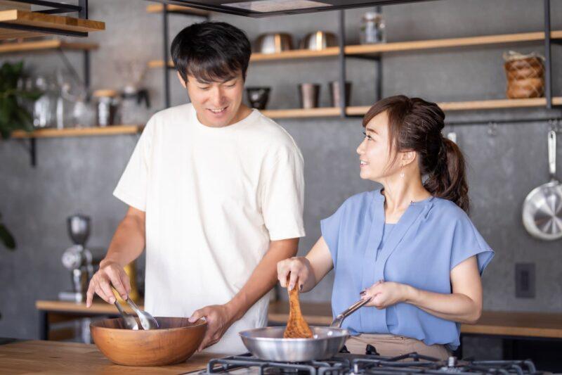 乾燥肌とはどのような状態。予防等編 夫婦で料理