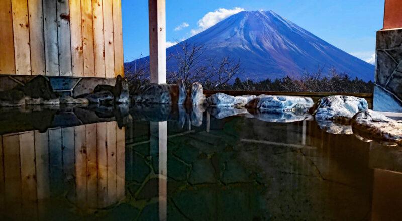 乾燥肌とはどのような状態の肌?温泉との関係編 富士山