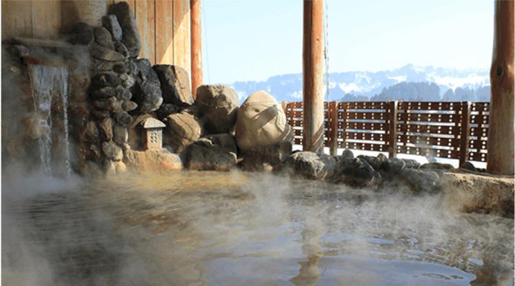 ビハクシア 温泉
