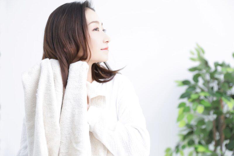 洗髪の正しい知識と方法など タオル