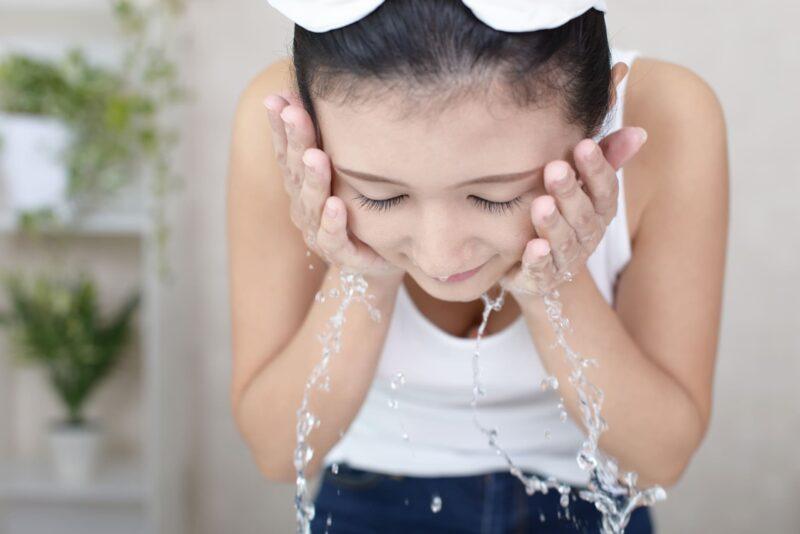 セラミドを増やして敏感肌をケア 洗顔